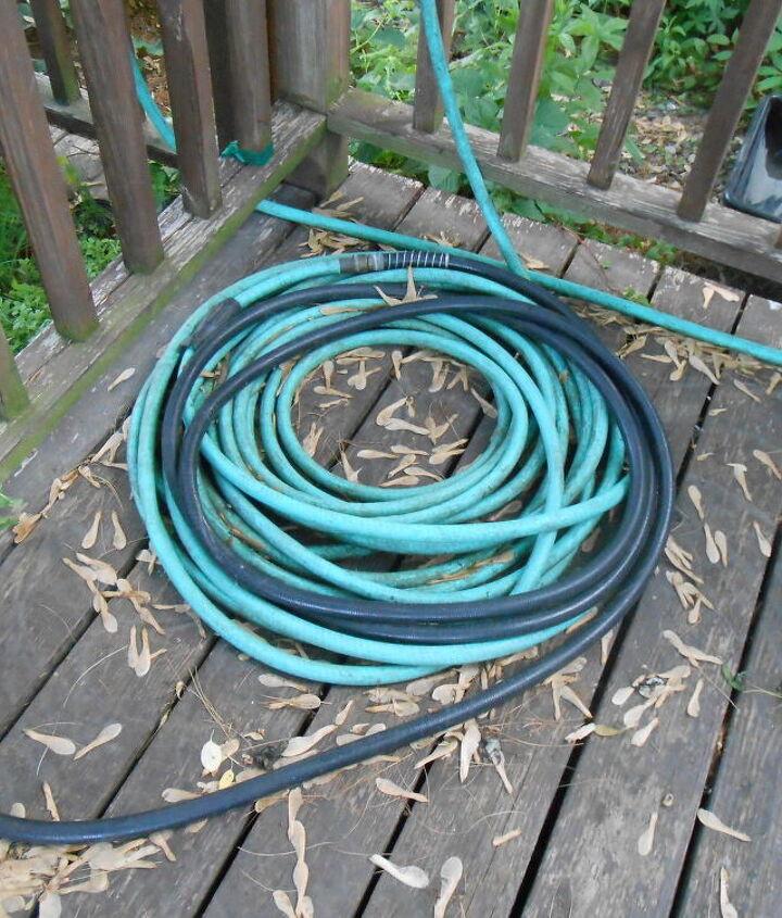 diy driftwood hose holder, decks, gardening, outdoor living, repurposing upcycling