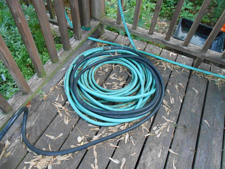 diy driftwood hose holder, decks, gardening, outdoor living, repurposing upcycling
