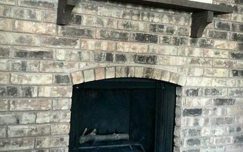 diy how to repair the cracked fireplace base, concrete masonry, diy, fireplaces mantels, home maintenance repairs, how to, Fix it yourself