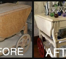 Furniture Upcycle Tea Cart Diy, Dining Room Ideas, Home Decor, Painted  Furniture,