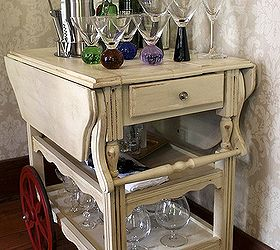 Furniture Upcycle Tea Cart Diy, Dining Room Ideas, Home Decor, Painted  Furniture, ...
