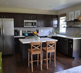 Exceptional Kitchen Reveal Dark Cabinets Light Counters, Countertops, Home Improvement,  Kitchen Backsplash, Kitchen