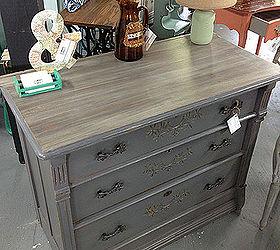 Driftwood Eastlake Dresser Makeover, Painted Furniture, Rustic Furniture