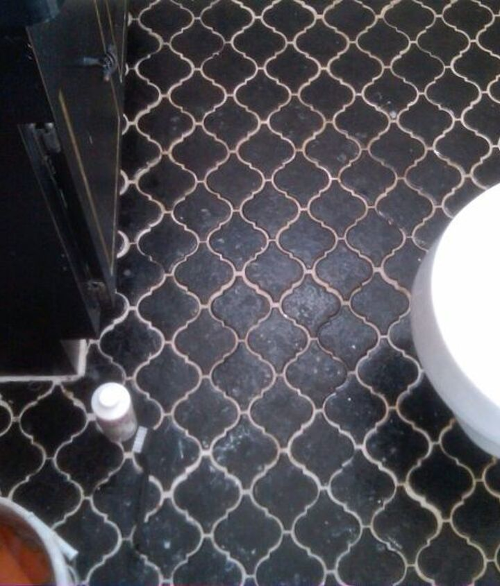 off set grout before Grout Shield