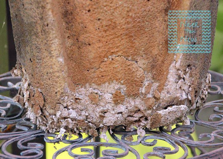 can i use bondo to repait a concrete garden sculpture, concrete masonry, repurposing upcycling