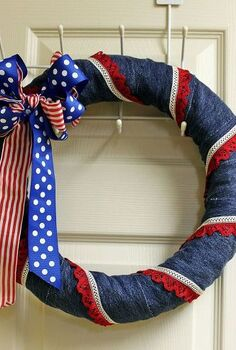 how do you celebrate the 4th of july, crafts, patriotic decor ideas, seasonal holiday decor, wreaths