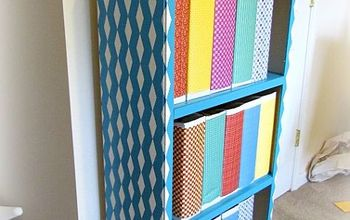 bookshelf revamp, painted furniture, shelving ideas
