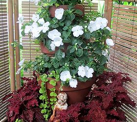 Garden Containers Our Fairfield Home Garden, Container Gardening, Flowers,  Gardening, 5 Tiered