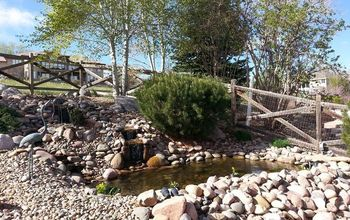From a Pile of Cobbles to a Beautiful Pondless Waterfall