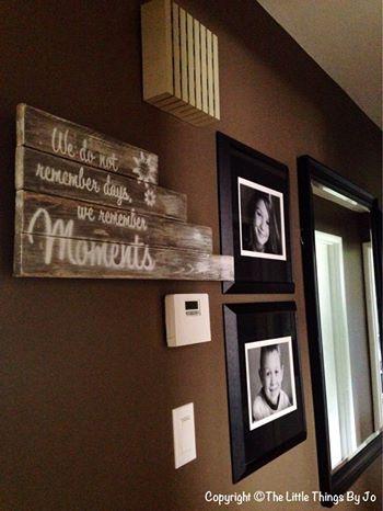 DIY Wood Art Sign   Hometalk
