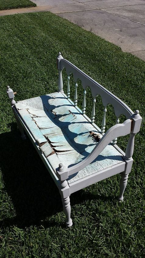 discarded treasure renewed for my wonderful mother in law, painted furniture