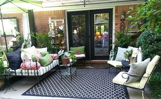 11 ways to entertain with character, gardening, landscape, outdoor living, porches