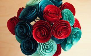 diy paper flowers, crafts