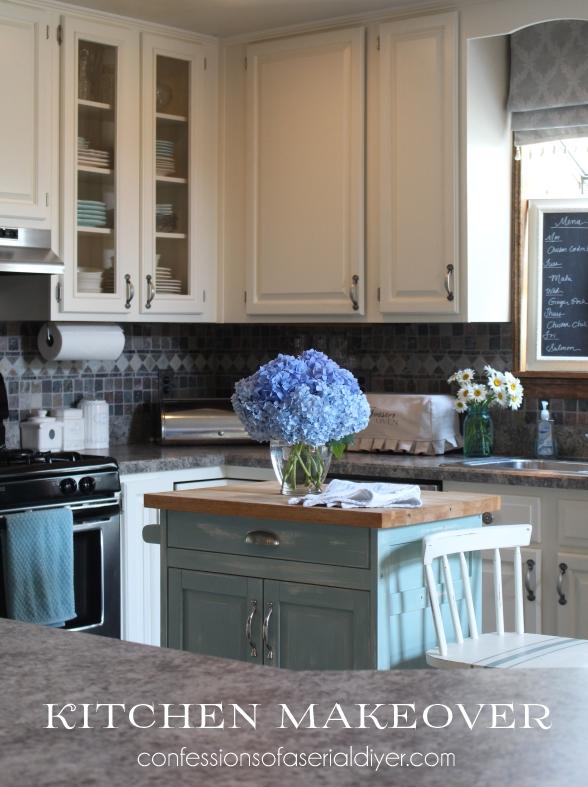 Behr Cottage White Kitchen Cabinets