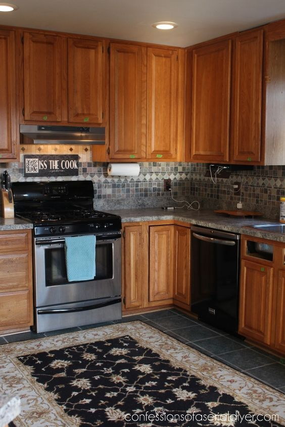 kitchen makeover, kitchen backsplash, kitchen cabinets, kitchen design, painting