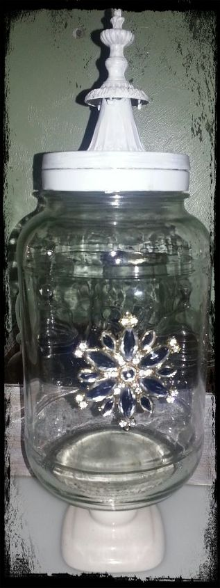 upcycled glass pickle jars, repurposing upcycling