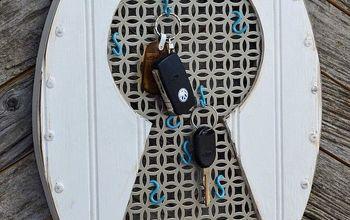 Faux Vintage Keyhole - key hanger