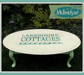Big Lots Coffee Table Turned Lake Shore Cottage Coffee Table