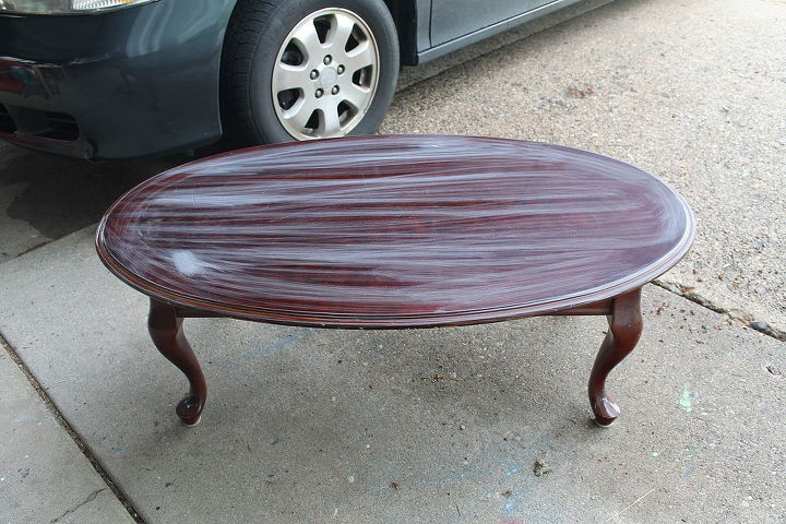 big lots coffee table turned lake shore cottage coffee table, painted furniture