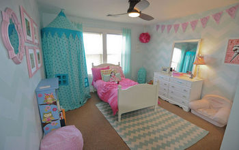 Stenciling a Little Girl's Room To Grow
