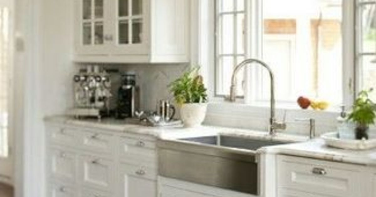 Farmhouse Sink Stainless Steel Or Cast Iron Hometalk