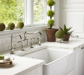 Q Farmhouse Sink Stainless Steel Or Cast Iron, Home Decor, Kitchen Design,  Or