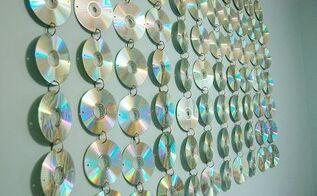 teen room cd wall hanging, bedroom ideas, home decor, wall decor