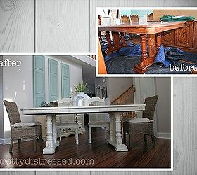 Dining Room Table Makeover Ideas Part - 49: Grandma S Table Gets A Makeover, Chalk Paint, Dining Room Ideas, Painted  Furniture