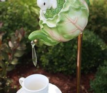 tea pot garden feature tutorial, gardening, repurposing upcycling