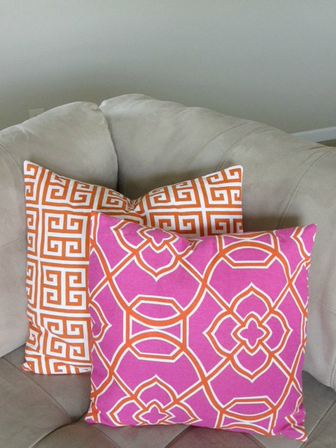 Easy DIY Envelope Throw Pillow Covers | Hometalk