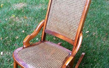 One Hundred Year Old Rocker Restored