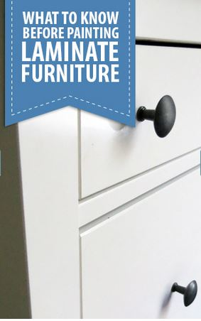 what to know before painting laminate furniture, flooring, painted furniture