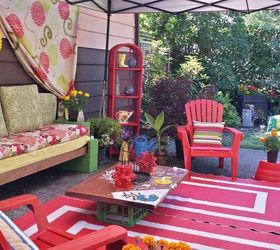Ugly Patio Make Over, Outdoor Furniture, Outdoor Living, Patio, A Different  View
