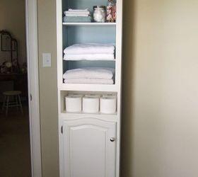 Linen Cabinet Storage Solution Hometalk