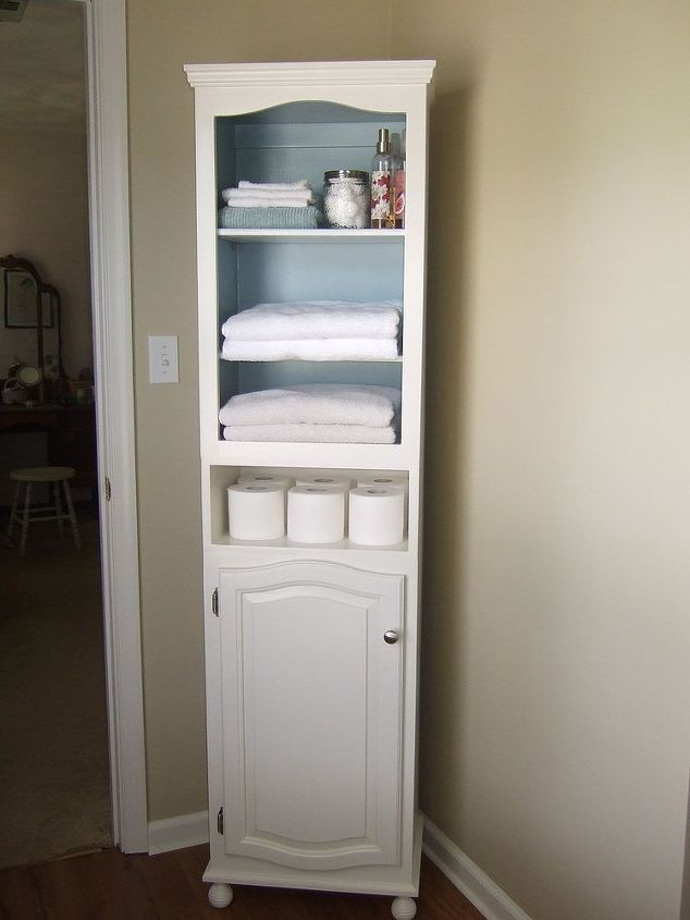 Linen Cabinet Storage Diy Painted Furniture Shelving Ideas