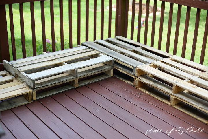 diy pallet furniture patio makeover hometalk