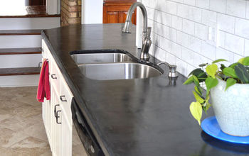 Easy DIY Concrete Counters: The Missing Link.
