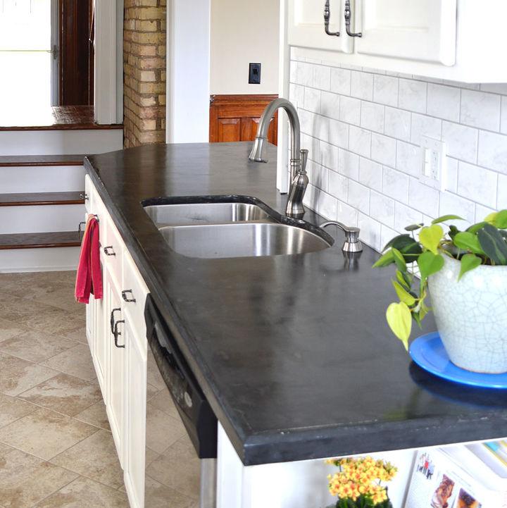 Easy Diy Concrete Counters Masonry Countertops How