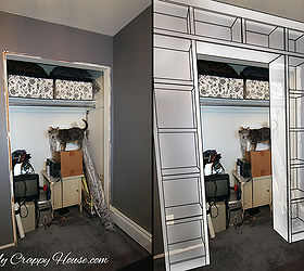 Charmant Built In Bookshelves Around A Closet, Closet, Diy, Storage Ideas,  Woodworking Projects