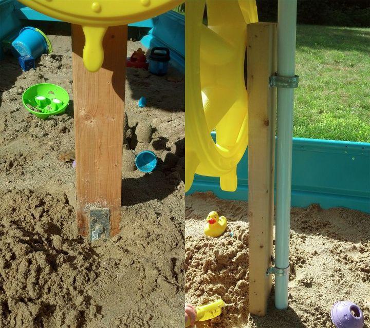 diy sandbox boat tutorial, diy, how to, outdoor living, repurposing upcycling