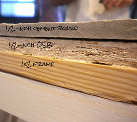 Charmant Counter Top Cross Section.