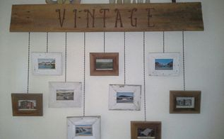 hanging picture frames diy, crafts, home decor
