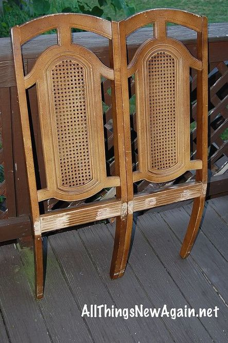 How To Make a Bench From Two Chairs | Hometalk