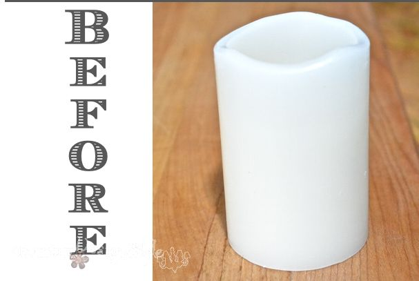 Top How to Turn Flameless Candles Into Chunky Wax Candles | Hometalk CH03