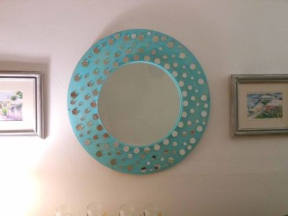 Pinterest Inspired Mirror Redesign Bedroom Ideas Crafts Home Decor Repurposing Upcycling