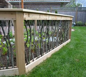 Merveilleux A Backyard Upgrade With A Unique Vegetable Garden Fence, Decks, Gardening,  Outdoor Living