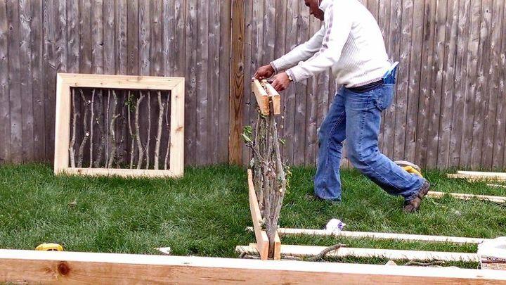 Garden Fence Construction