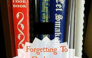 Forgetting To Declutter: Cookbooks and Recipes