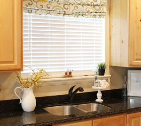 Attractive No Sew Faux Roman Shade, Crafts, Home Decor, Kitchen Design, Window  Treatments