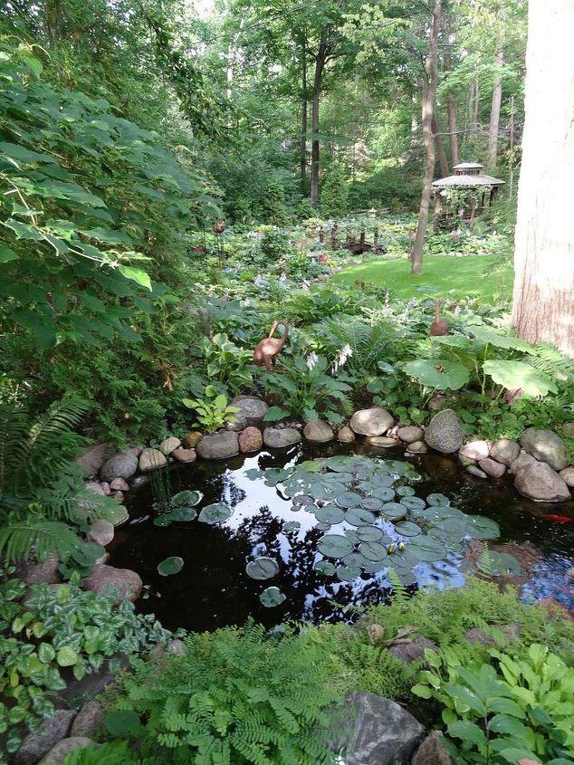 an early july backyard shade garden walk in green bay wi, gardening, landscape, outdoor living